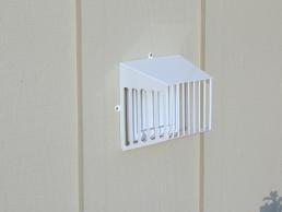 Dryer & Bathroom Vents outside
