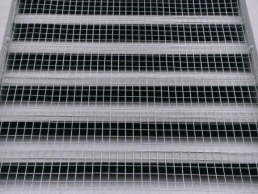 Louver Vent Screening outside